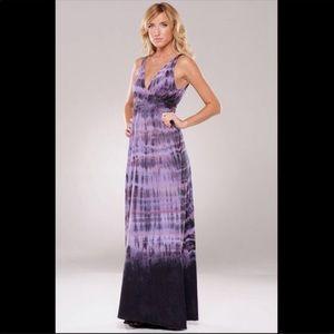 Gypsy 05 purple maxi dress M